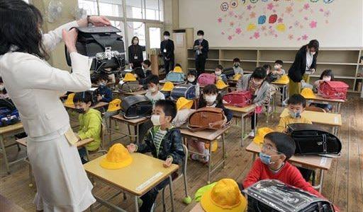 新1年生が初登校 熊本市立小学校、入学式は見送り--熊本日日新聞