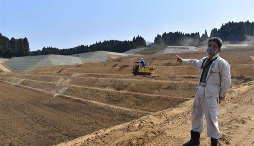 埋もれた棚田が大規模農地に 熊本・南阿蘇村乙ケ瀬地区---西日本新聞