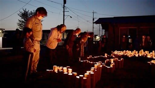 追悼の光、再生誓う 熊本地震4年、益城町の仮設団地で集会--熊本日日新聞