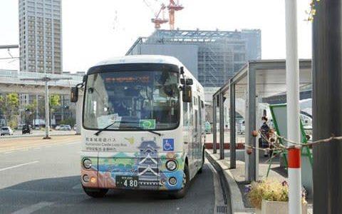 熊本都市バス「しろめぐりん」大幅減便 新型コロナで観光客減、運行1時間間隔に--熊本日日新聞