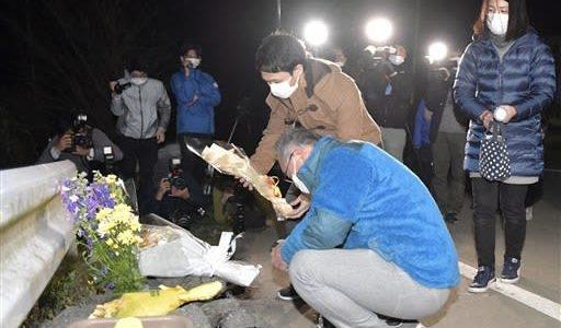 大和さんの冥福祈る 熊本地震本震から4年---熊本日日新聞