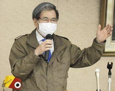 蒲島熊本県知事「さらに緊迫感」 緊急事態宣言で臨時会見、休業要請には慎重姿勢---熊本日日新聞