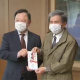 弁当のヒライホールディングスがマスク寄贈(熊本)–TKU