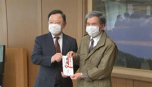 弁当のヒライホールディングスがマスク寄贈(熊本)--TKU