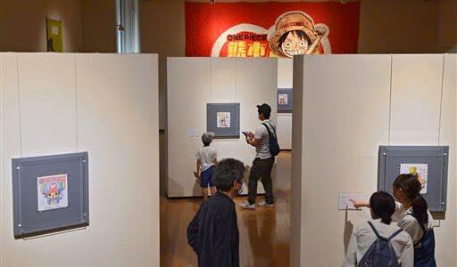「集う!! 麦わらの色紙たち」展が開幕 熊本市の県美本館、震災からの復興祈念