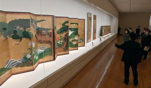 熊本の〝美〟歩みたどる 県立美術館、開館45周年の名品展