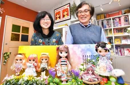 市販の人形に魂吹き込む カスタムドール店「ハル」 職人技がファン魅了、「聖地」に 鹿児島市