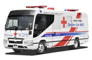 燃料電池医療車を実証実験へ 熊本赤十字病院とトヨタ 災害時の活動拠点に