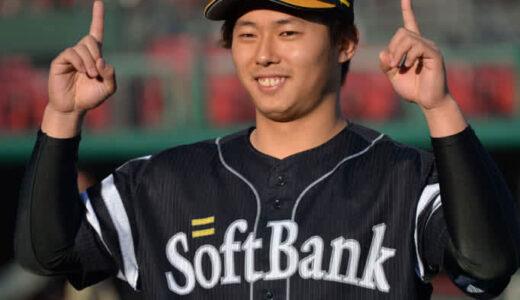 4年目の鷹・田浦文丸 同期ドラ1への非情通告で腹くくりプロ初勝利