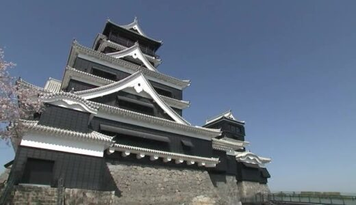 シリーズ熊本地震から5年 1回目は熊本のシンボル熊本城復旧の歩み(熊本)