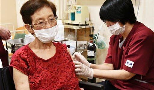 熊本県内、初日は61人接種 高齢者ら対象、新型コロナワクチン