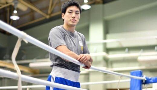 東京五輪でメダル狙う成松大介「ボクシングで前向きに」今も続ける熊本地震の復興支援
