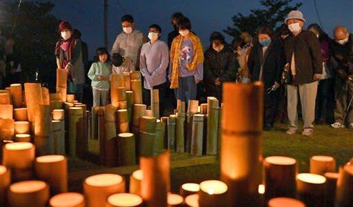 「あの日の悲しみは消えない」古里の復興へ誓い 熊本地震から5年、県内で祈り